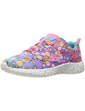 Skechers Kids Girls' Burst-Emoti-Cutie Sneaker, Multi, 10.5 M US Little Kid