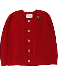 Fred's World by Green Cotton Baby Cable Knit Cardigan