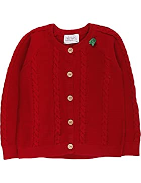 Fred's World by Green Cotton Unisex Baby Strickjacke Cable Knit Cardigan