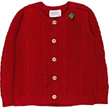Fred's World by Green Cotton Cable Knit Cardigan Baby, Chaqueta Punto para Bebés