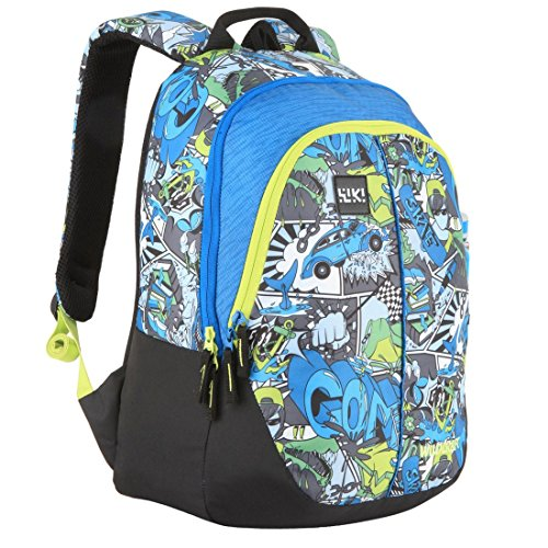 Wildcraft Polyester 28 Ltrs Blue School Backpack (Wiki 1 Streets 1) 2ca5c091e6c52