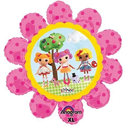 Lalaloopsy Flower Super Shape Mylar Balloon by Anagram