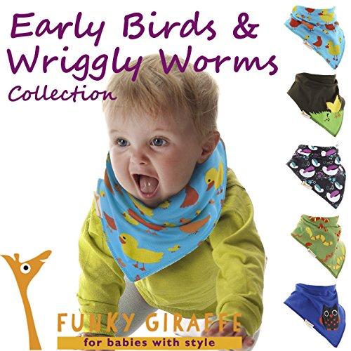 early-birds-e-wriggly-worms-collezione-di-bavaglini-bandana