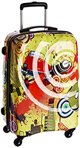 Skybags Polycarbonate 66 cms Yellow Hard sided Suitcase (FTLHH65MPT)