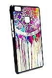 Case Schutz Hülle SILIKON TPU Traumfänger Traum fänger kunst gemalt (Huawei P9 Lite)