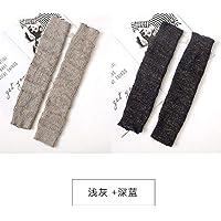 ZHEG Calcetines Largos De Tubo para Mujer sobre La Rodilla Calidez Engrosamiento Rodilleras De Yoga Calcetines De Baile-4 4_Talla Única