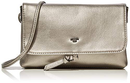 TOM TAILOR für Frauen Taschen & Geldbörsen Umhängetasche Luna Fall Old Silber/Silver, OneSize