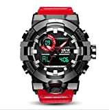 HCYGUO Sport Outdoor Orologio analogico 50M Impermeabile con...
