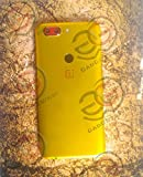 #9: Gadgets WRAP OnePlus 5T 1+5T Dual Combination Gold n Red Electroplating Skin for Back