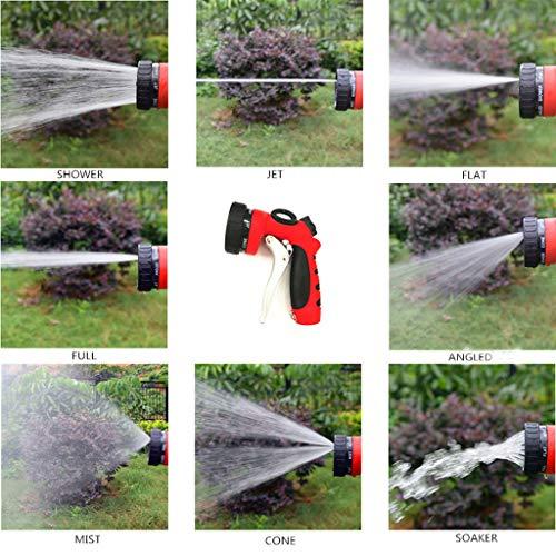 Mitlfuny -> Haus & Garten -> Küche ,Gartenschlauch-Sprühdüse 8 Muster Hochleistungspistole für Autowäsche