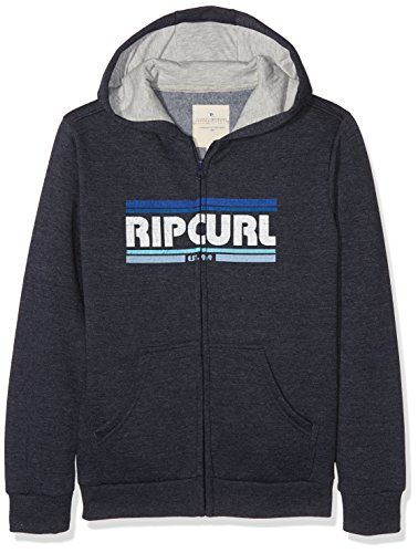 Rip Curl Jungen Big Mama Spray Hoohed Zip Fle Sweatshirt, Night Sky Marle, S (Snow Curl Rip)