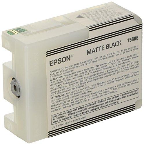 Epson T5808 Cartouche d'encre d'origine 1 x noir mat