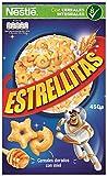 Cereales Nestlé Estrellitas Cereales de trigo y maíz tostados con miel - Paquete de cereales de 450 gr