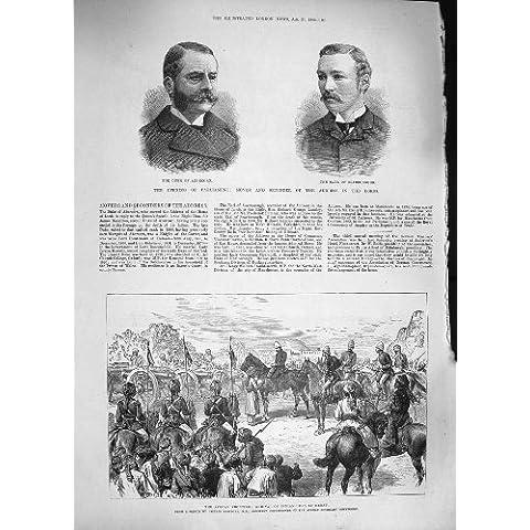 L'INDIANO AFGANO DI GUERRA 1886 SPARA IL CUORE ABERCORN SCARBOROUGH - Cuore Afgano