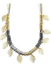 Joyería de moda cadena, blanco/oro/plata