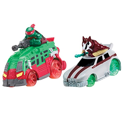 Teenage Mutant Ninja Turtles Teenage Mutant Ninja Turtles T Machines Raphael in Shellraiser and Splinter in Rat Attack Diecast Ve