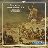 Telemann: Wind Concertos Volume 8 (La Stagione Frankfurt; Camerata Köln; Michael Schneider) (CPO: 999951-2)