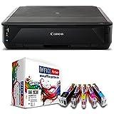 Canon PIXMA iP7250 Farb Tintenstrahldrucker inkl. 10 kompatiblen OFFICE-Partner Patronen + USB Kabel (Originalpatronen nicht im Lieferumfang)