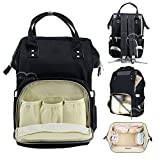 #10: Motherly Stylish Babies Diaper Bags for Mothers (Black)