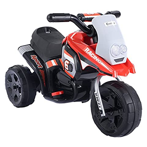 Costway Motorbike Kids Ride On Motorcycle 6V Electric Battery Scooter Car Bike Toy Boys
