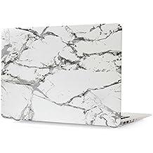 NXET carcasa mármol duro de goma para Apple MacBook Pro 1315pulgadas con Retina Display blanco blanco Macbook Pro 15-Inch (A1398)