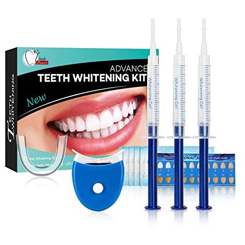 Kit de Blanchiment des dents Dentaire Professionnel Home Kit Système de Blanchiment Dentaire-10x3ML...