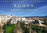 Ronda - Eine Stadt in  Andalusien (Tischkalender 2017 DIN A5 quer): Stadt an der Schlucht (Monatskalender, 14 Seiten) (C