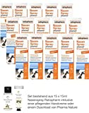 Nasenspray Ratiopharm 15er Sparpackung - 15 x 15 ml und einer Handcreme o. Duschbad der Marke Pharma Nature