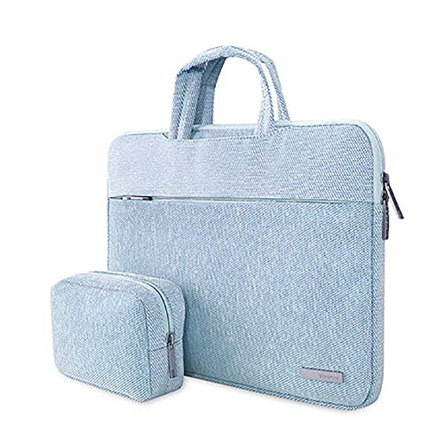 Laptop Case12-15.6 Inch,Notebook Sleeve Water-resistance Ultrabook Protective Bag Fit Lenovo Millet Apple Dell ASUS HP Huawei Notebook Female Portable Macbook Computer Bag -