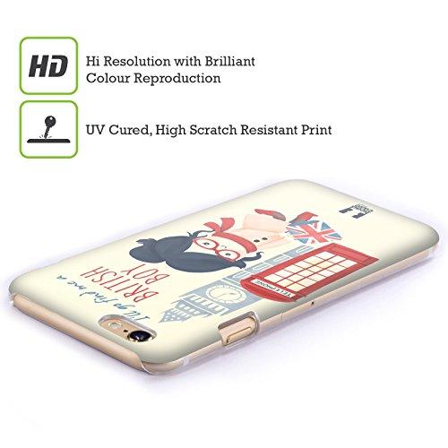 Head Case Designs Ein Gardeoffizier Der Königin Zu Küssen Ich Träume Von London Ruckseite Hülle für Apple iPhone 5 / 5s / SE Englischer Junge