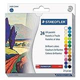 Staedtler Karat - Colores pastel al óleo (24 unidades) [Importado de Alemania]