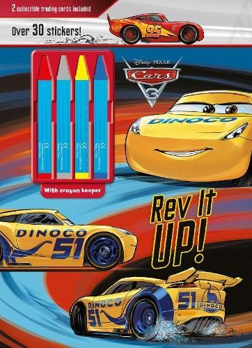 Disney Pixar Cars 3 Rev it Up!: 2 Collectible Trading Cards Included