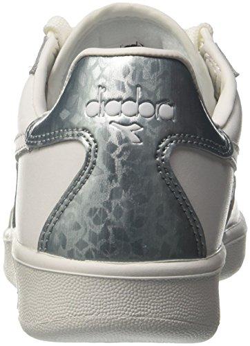 Diadora B.Elite W, Sneaker a Collo Basso Donna Bianco