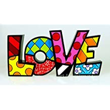 ROMERO BRITTO Word Art - LOVE - Pop Art Kunst aus Miami #331483