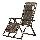 Dawn Sonnenliege LiegestuhlRelaxsessel & -Liegen Sommer Kühl Stühle Falten Recliners Mittagspause Stuhl Erwachsene Lounge Stuhl Haushalt Rückenlehne Couch Erweitern Klappliegestuhl Style-1