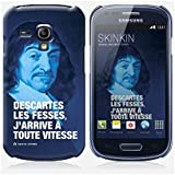 Coque Samsung Galaxy S3 mini de chez Skinkin - Design original : Descartes par Fists et Lettres
