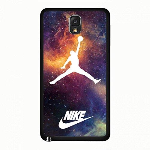 Nike Cool Nike Air Jordan logo classic Logo–Teléfono móvil teléfono móvil Samsung Galaxy Note 3teléfono móvil, compatible con Samsung Galaxy Note 3, color multicolor
