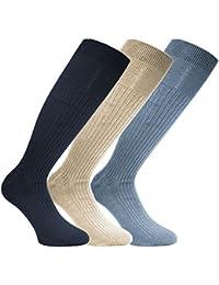 Socks Uwear Herren Socken für den Alltag Kniestrumpf, Einfarbig