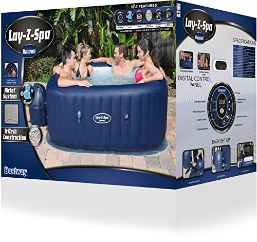 Lay-Z-Spa Hawaii Whirlpool eckig, 180x180x71cm - 41