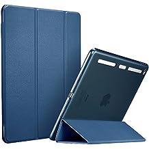 iPad Mini 4 Funda, ESR Slim Fit Carcasa con Stand Función y Auto-Sueño/Estela Suave Borde de Parachoques de TPU [Protección de la Esquina] para Apple iPad Mini 4 Lanzado en 2015 Smart Case Cover , Azul Marino
