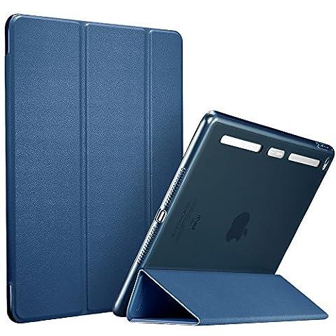 Coque iPad Air 2, ESR à iPad Air 2 Smart Case Coque Housse Etui avec Retour Magnétique [Slim-Fit] [Meilleure Ventilation] pour iPad (iPad Air 2(6th),Bleu Ming)