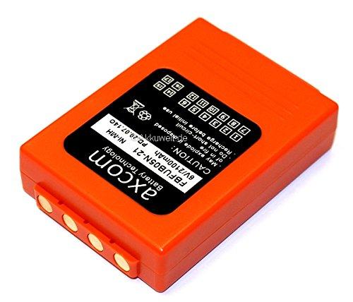 Batterie de rechange hBC fUB5AA fUB05AA fBFUB05 bA205030 de grue v 2,1 ah entrée