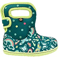 BOGS Baby Wellingtons Printed Waterproof Kids Boots UK 3-9 (UK 3, Turquoise Multi)