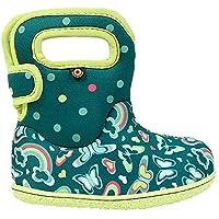 BOGS Baby Wellingtons Printed Waterproof Kids Boots UK 3-9 (UK 3, Turquoise Multi)