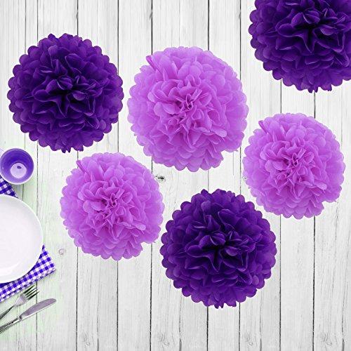 6-pezzi-da-25cm-pon-pon-pom-poms-fiori-di-carta-velina-fatta-a-mano-del-partito-della-sfera-di-nozze
