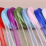 Generic BK05 : 27 colors choose (10 yards/lot) 3/4' ' (20mm) Broadside organza ribbons wholesale gift wrapping decoration ribbons B