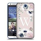 Offizielle Nature Magick W Blumiger Monogramm Blumen Pink 2 Ruckseite Hülle für HTC Desire 620/620 Dual SIM