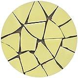 Eclats de mosaïque émaillée, 20-50mm, 1Kg Jaune, BV03
