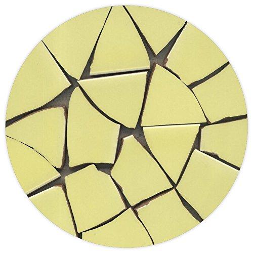 Mosaic, Broken ceramic, 20-50mm, 1kg yellow, BV03