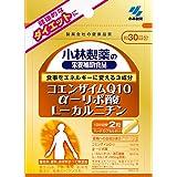 Kobayashi Pharmaceutical Supplement - Coenzyme Q10 ƒ¿-lipoic acid L-carnitine - 60grain